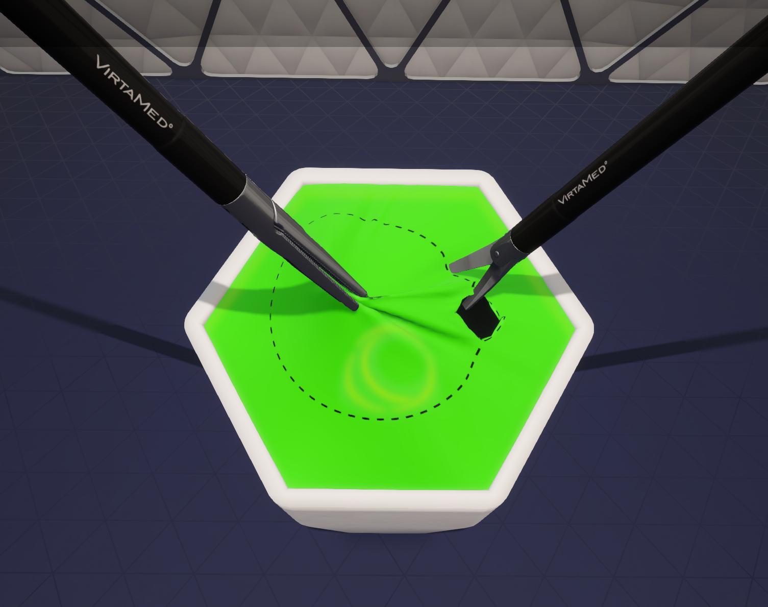 VirtaMed LaparoS™ Essential Skills Circular Cutting